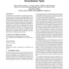 Determining detailed structural correspondence for generalization tasks