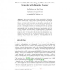 Deterministic Dominating Set Construction in Networks with Bounded Degree