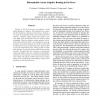 Deterministic versus Adaptive Routing in Fat-Trees