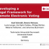 Developing a Legal Framework for Remote Electronic Voting