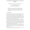 Developing Web Applications from Conceptual Models