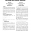 Development of combinational circuits using non-uniform cellular automata: initial results