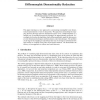 Diffeomorphic Dimensionality Reduction