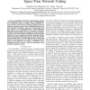 Differential Cooperative Communications with Space-Time Network Coding