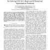 Differential evolution with multiple strategies for solving CEC2011 real-world numerical optimization problems