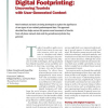 Digital Footprinting: Uncovering Tourists with User-Generated Content