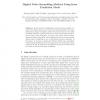 Digital Video Scrambling Method Using Intra Prediction Mode