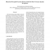 Dimension-Decoupled Gaussian Mixture Model for Short Utterance Speaker Recognition