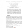 Dimension of the Linearization Equations of the Matsumoto-Imai Cryptosystems