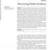 Discovering Hidden Evidence