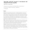 Discovering multi-level structures in bio-molecular data through the Bernstein inequality