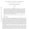 Discrete denoising of heterogenous two-dimensional data