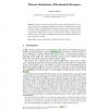 Discrete Simulations of Biochemical Dynamics
