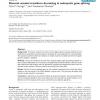 Discrete wavelet transform de-noising in eukaryotic gene splicing