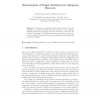 Discretization of Target Attributes for Subgroup Discovery