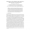 Discriminacy of the minimum range approach to blind separation of bounded sources