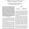 Distributed and Power Efficient Routing in Wireless Cooperative Networks