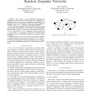 Distributed Construction of Random Expander Networks