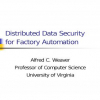Distributed Data Security for Factory Automation