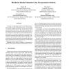 Distributed Density Estimation Using Non-parametric Statistics