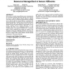 Distributed genetic algorithm for energy-efficient resource management in sensor networks