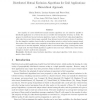 Distributed mutual exclusion algorithms for grid applications: A hierarchical approach