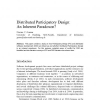 Distributed participatory design
