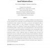 Distributed policy processing in active-service based infrastructures