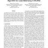 DLB-SDPOP: A Multiagent Pseudo-tree Repair Algorithm for Load Balancing in WLANs