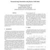 Document Image Binarisation Using Markov Field Model