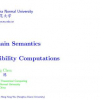 Domain semantics of possibility computations
