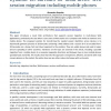 Dynamic 2D-barcodes for multi-device Web session migration including mobile phones