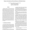 Dynamic Authorization and Intrusion Response in Distributed Systems
