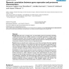Dynamic covariation between gene expression and proteome characteristics