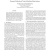 Dynamic Verification of Trust in Distributed Open Systems