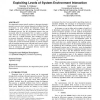 Dynamical blueprints: exploiting levels of system-environment interaction