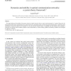 Dynamics and stability in optical communication networks: a system theory framework