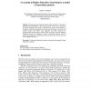 e-Learning in Higher Education: Searching for a Model of Curriculum Analysis