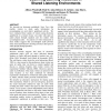 Eavesdropping on Electronic Guidebooks: Observing Learning Resources in Shared Listening Environments