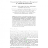 Economically Enhanced Resource Management for Internet Service Utilities
