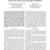 Ecosystems Monitoring: An Information Extraction and Event Processing Scientific Workflow