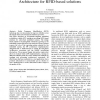 eEPC: an EPCglobal-compliant Embedded Architecture for RFID-based Solutions