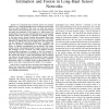 Effect of Retransmission and Retrodiction on Estimation and Fusion in Long-Haul Sensor Networks