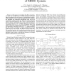 Effect of Word-length Precision on the Performance of MIMO Systems