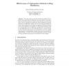 Effectiveness of Aggregation Methods in Blog Distillation