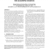 Effects of sampling methods on web accessibility evaluations