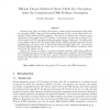 Efficient Chosen Ciphertext Secure Public Key Encryption under the Computational Diffie-Hellman Assumption
