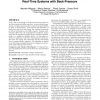 Efficient computation of buffer capacities for multi-rate real-time systems with back-pressure