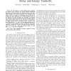 Efficient Data Collection for Wireless Networks: Delay and Energy Tradeoffs
