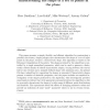 Efficient generation of simple polygons for characterizing the shape of a set of points in the plane